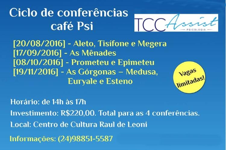 Ciclo de Conferências Café PSI